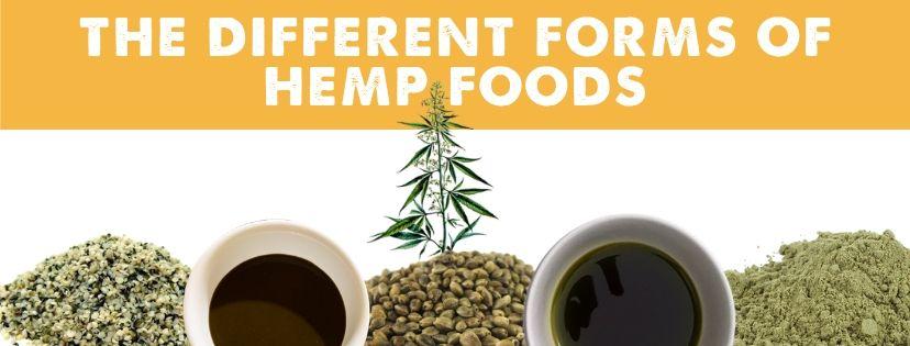 Different Types of Hemp Foods